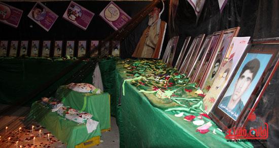 حاشیه مراسم احیاء شب بیست و یکم ماه مبارک رمضان در رفسنجان (4)