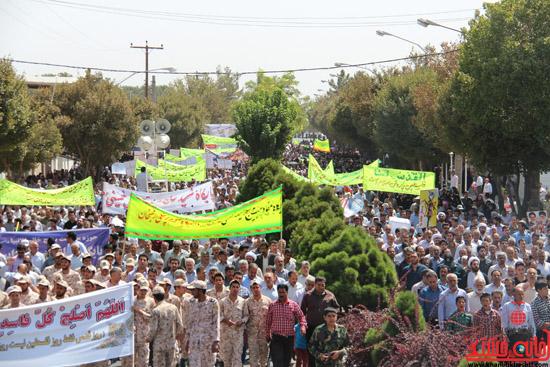 دوربین خانه خشتی در راهپیمایی روز جهانی قدس در رفسنجان (5)