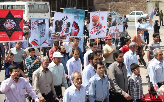 دوربین خانه خشتی در راهپیمایی روز جهانی قدس در رفسنجان (7)