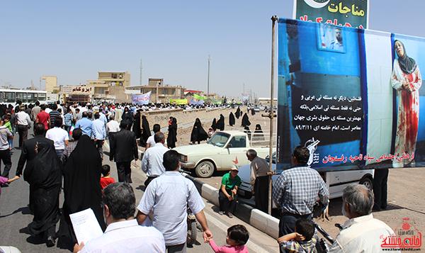 راهپیمایی روز جهانی قدس در رفسنجان