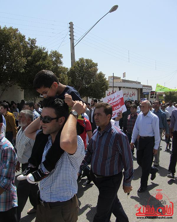 راهپیمایی روز جهانی قدس در رفسنجان13