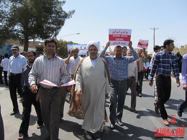 راهپیمایی روز جهانی قدس در رفسنجان14