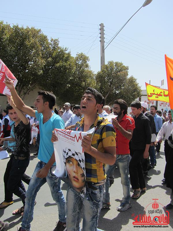 راهپیمایی روز جهانی قدس در رفسنجان16