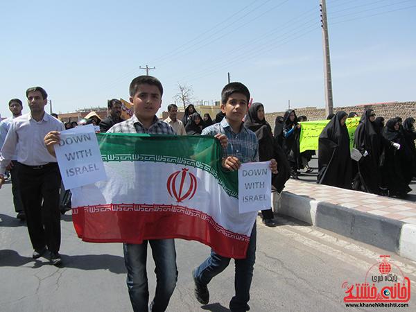 راهپیمایی روز جهانی قدس در رفسنجان19