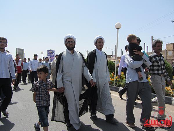 راهپیمایی روز جهانی قدس در رفسنجان21