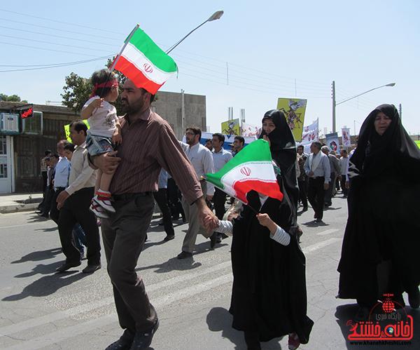 راهپیمایی روز جهانی قدس در رفسنجان4