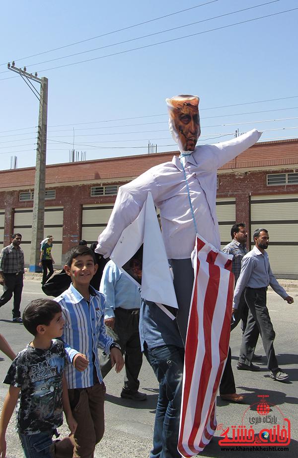 راهپیمایی روز جهانی قدس در رفسنجان8