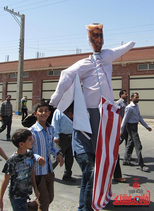 ایستادگی مردم رمز پیروزی فلسطین است