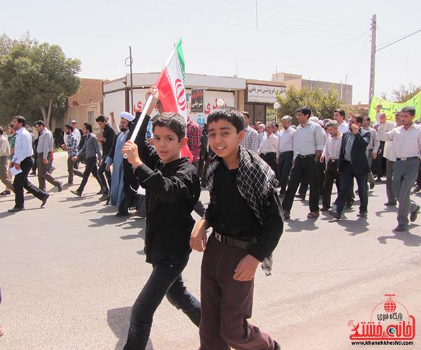 راهپیمایی روز جهانی قدس در رفسنجان9