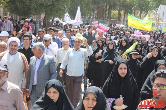 راهپیمایی روز قدس رفسنجان 2