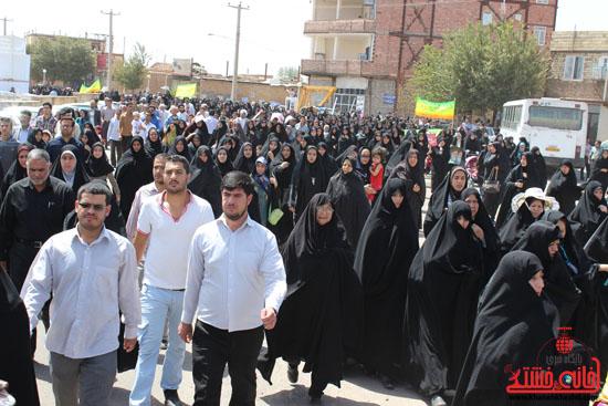 راهپیمایی روز قدس رفسنجان 4
