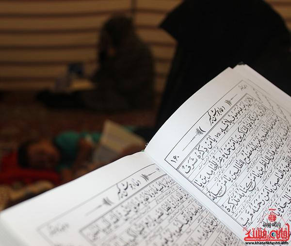 دوربین خانه خشتی در مراسم احیاء ماه مبارک رمضان