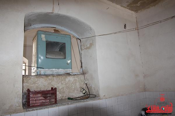 غسال خانه مزار عباس آباد رفسنجان. پایگاه اطلاع رسانی خانه خشتی16