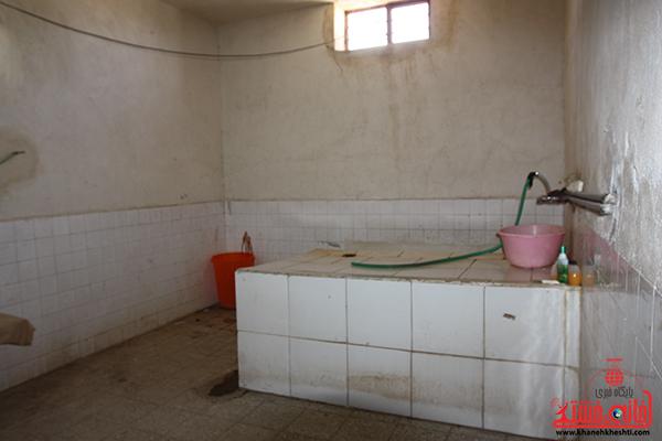 غسال خانه مزار عباس آباد رفسنجان. پایگاه اطلاع رسانی خانه خشتی18