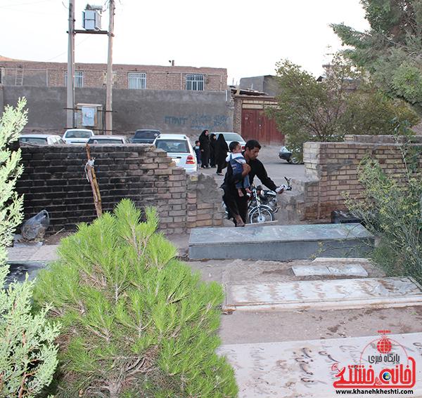 مزار عباس آباد رفسنجان. پایگاه اطلاع رسانی خانه خشتی
