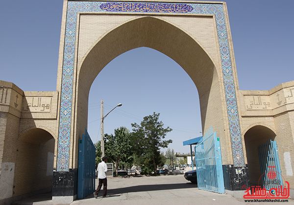 دوربین خانه خشتی/ مزار عباس آباد رفسنجان