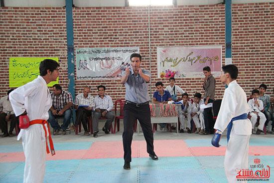 مسابقات کاراته جام صلح و دوستی در رفسنجان (2)