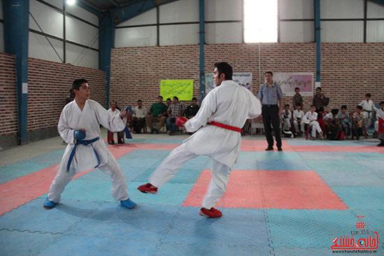 مسابقات کاراته جام صلح و دوستی در رفسنجان (3)