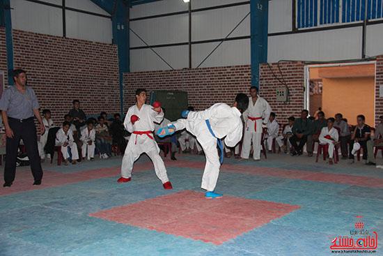 مسابقات کاراته جام صلح و دوستی در رفسنجان (5)