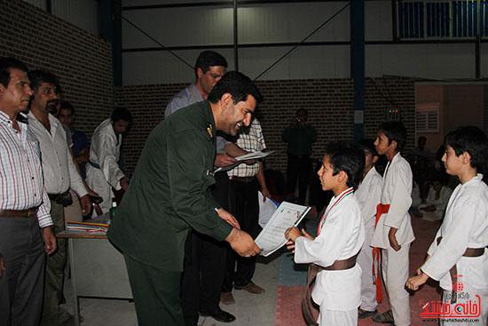 مسابقات کاراته جام صلح و دوستی در رفسنجان (6)
