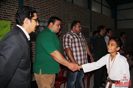 مسابقات کاراته جام صلح و دوستی در رفسنجان (7)