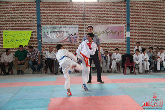 مسابقات کاراته جام صلح و دوستی در رفسنجان