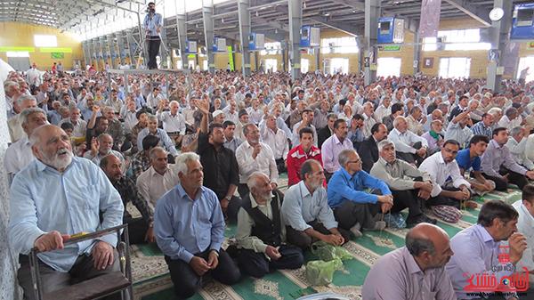 نمازجمعه مردم رفسنجان در روز جهانی قدس