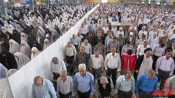 نمازجمعه مردم رفسنجان در روز جهانی قدس2