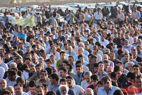 نماز عید فطر در مصلا امام خامنه ای رفسنجان10