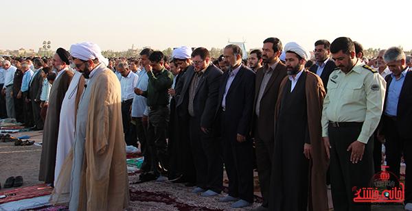 نماز عید فطر در مصلا امام خامنه ای رفسنجان11