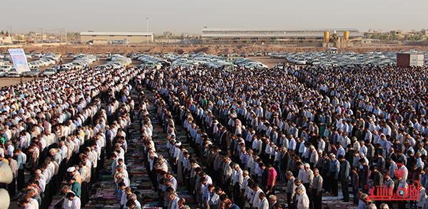 نماز عید فطر در مصلا امام خامنه ای رفسنجان12