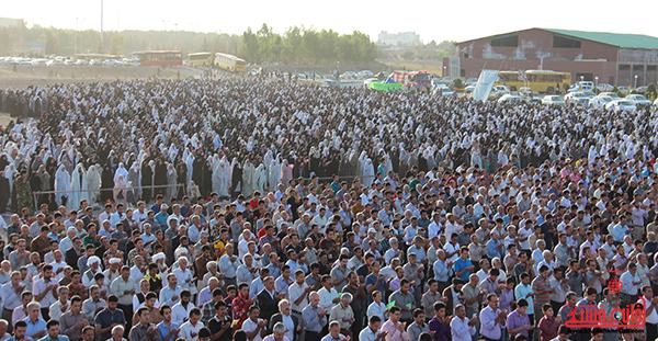 نماز عید فطر در مصلا امام خامنه ای رفسنجان14