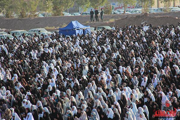 نماز عید فطر در مصلا امام خامنه ای رفسنجان15
