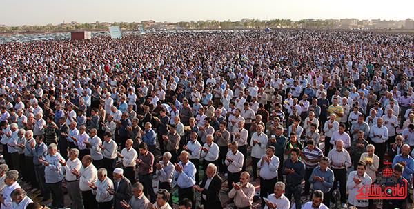 نماز عید فطر در مصلا امام خامنه ای رفسنجان19