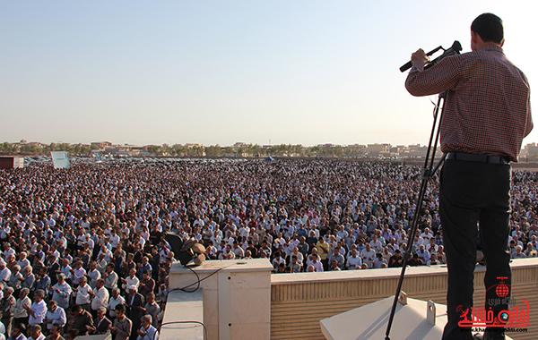 نماز عید فطر در مصلا امام خامنه ای رفسنجان22