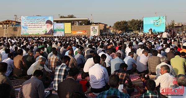 نماز عید فطر در مصلا امام خامنه ای رفسنجان8