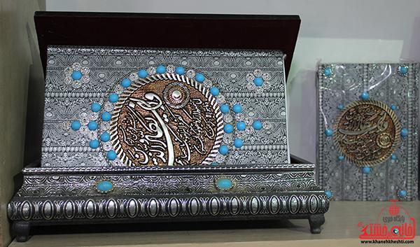دوربین خانه خشتی/ نمایشگاه بزرگ قرآن، حجاب و عفاف در رفسنجان
