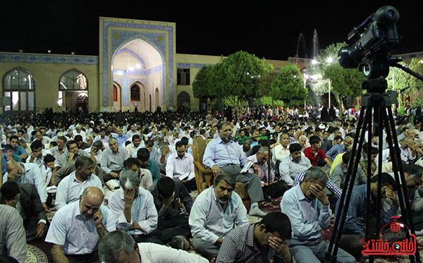 وداع  با ماه مبارک رمضان در مسجد جامع رفسنجان10