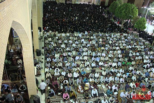وداع  با ماه مبارک رمضان در مسجد جامع رفسنجان14