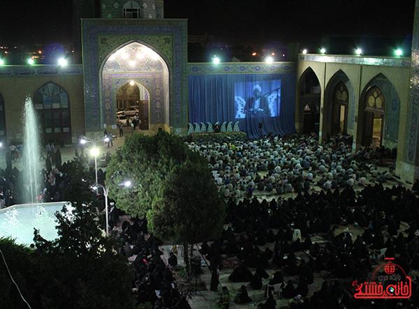 وداع  با ماه مبارک رمضان در مسجد جامع رفسنجان6