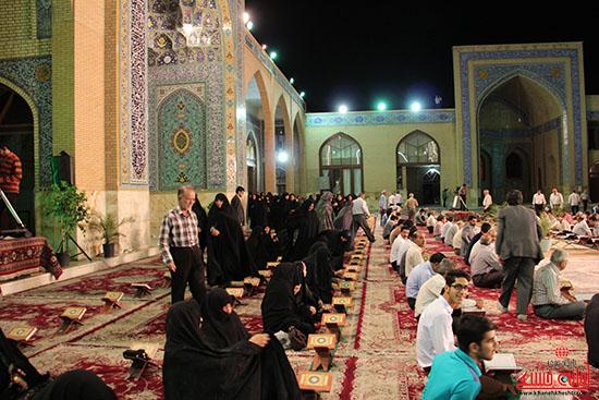 پشت صحنه پخش زنده ی آئین جمع خوانی قران کریم در رفسنجان (14)