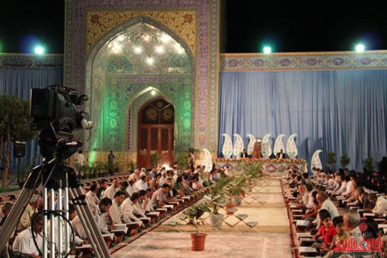 پشت صحنه پخش زنده ی آئین جمع خوانی قران کریم در رفسنجان (15)