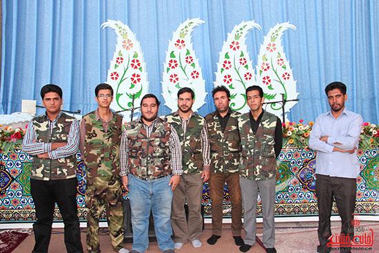پشت صحنه پخش زنده ی آئین جمع خوانی قران کریم در رفسنجان (16)