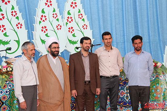 پشت صحنه پخش زنده ی آئین جمع خوانی قران کریم در رفسنجان (17)