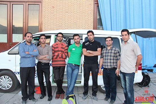 پشت صحنه پخش زنده ی آئین جمع خوانی قران کریم در رفسنجان (18)