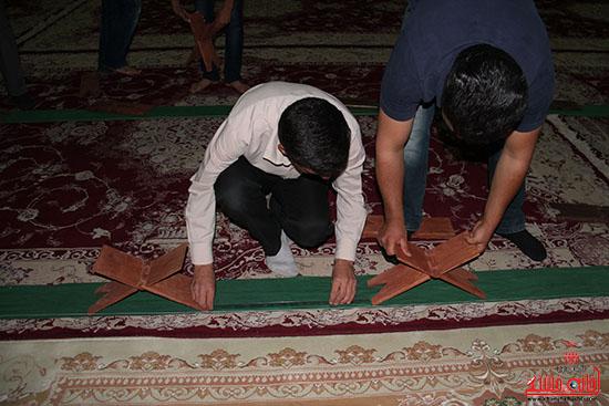 پشت صحنه پخش زنده ی آئین جمع خوانی قران کریم در رفسنجان (4)