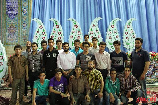 پشت صحنه پخش زنده ی آئین جمع خوانی قران کریم در رفسنجان (6)