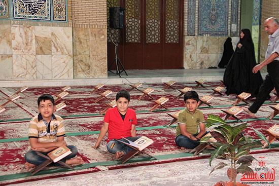 پشت صحنه پخش زنده ی آئین جمع خوانی قران کریم در رفسنجان (9)