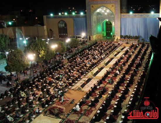 گزارش تصویری آئین جمع خوانی قرآن کریم در رفسنجان-قرآن-خانه خشتی رفسنجان (14)