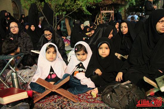گزارش تصویری آئین جمع خوانی قرآن کریم در رفسنجان-قرآن-خانه خشتی رفسنجان (17)